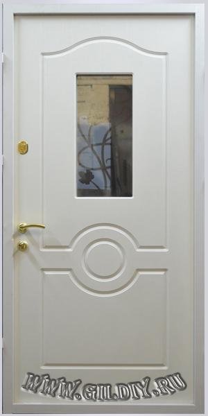 двери металлические со стеклом недорого москва
