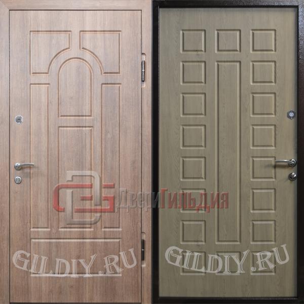уличные металлические двери мдф в загородный дом