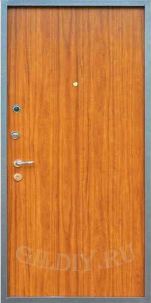 стальных дверей с ламинатом