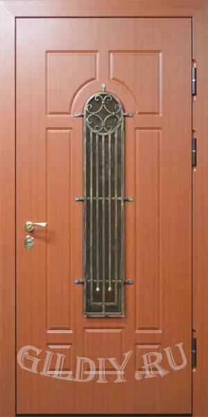 железные двери со стеклом от производителя
